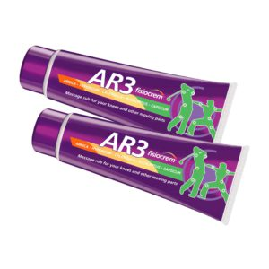 2 tubes of 100 ml Fisiocrem AR3